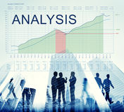 Analysis Graphs Business Marketing Goals concept Stock Image