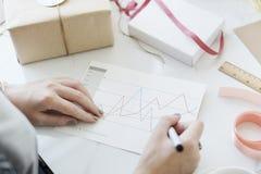 Analysis Information Statistics Report Graphic Concept Stock Photos