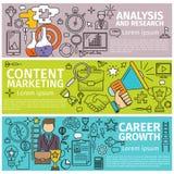 Analysis marketing career Stock Photo