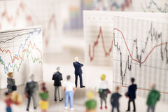 Analysis of the markets Royalty Free Stock Image