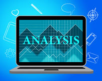 Analysis Online Represents Web Site And Data Stock Photos