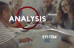 Analysis Process System Company Solution Concept Royalty Free Stock Images