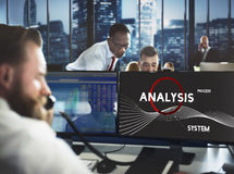 Analysis Process System Company Solution Concept Royalty Free Stock Photography