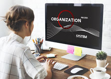 Analysis Process System Company Solution Concept Stock Photo