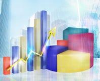 Analysis of profit Royalty Free Stock Photos