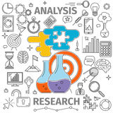 Analysis Research Concept Stock Image