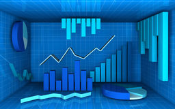 Analysis and statistics Royalty Free Stock Photography