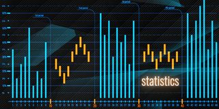 Bright forex chart backdrop. Analysis, statistics and finance concept. Bright forex chart backdrop. 3D Rendering Royalty Free Stock Images