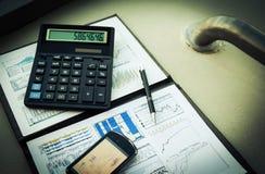 Analysis of workplace Stock Photo