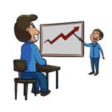 Analyst analyst presentation Stock Photos
