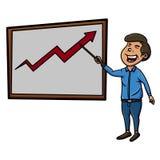 Analyst presentation Stock Photography