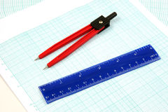 Analytic graph tools Stock Images