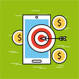 Analytic and investments flat Stock Photos