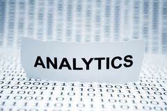 Analytics Images libres de droits