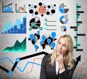 analytics imagem de stock
