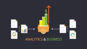 Analytics & affär arkivfoton