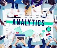 Analytics Analysis Business Marketing Concept Royalty Free Stock Images