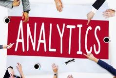 Analytics Analysis Data Information Planning Statistics Concept.  royalty free stock photos