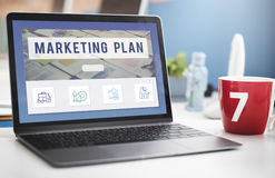 Analytics Branding Marketing Startup Business Concept royalty free stock photo