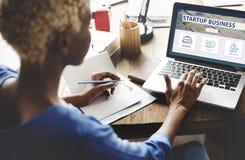 Analytics Branding Marketing Startup Business Concept. Sartup Business Marketing Strategy Concept stock photography