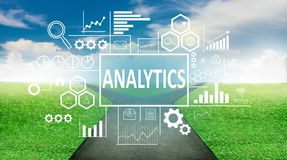 Analytics in Business Concept royalty free stock photo