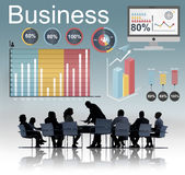 Analytics Business Statistics Data Strategy Concept.  Stock Photo