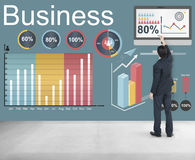Analytics Business Statistics Data Strategy Concept. Businessman writing analytics business statistics data strategy Concept Stock Images