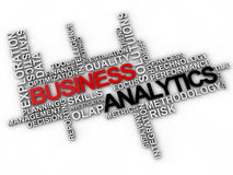 Analytics d'affaires Photo libre de droits