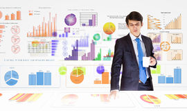 Analytics d'affaires Image libre de droits