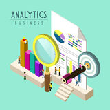 Analytics d'affaires Photo stock