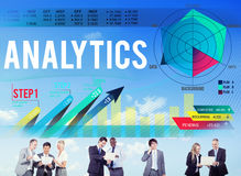 Analytics Evaluation Consideration Analysis Planning Strategy Co Royalty Free Stock Images