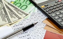 Analytics financeiro foto de stock