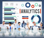 Analytics Information Statistics Strategy Data Concept royalty free stock images
