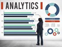 Analytics Information Statistics Strategy Data Concept.  royalty free stock photos