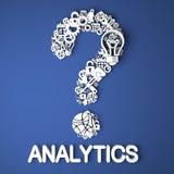 Analytics-Konzept. lizenzfreie abbildung
