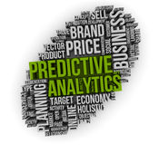 Analytics prévisionnel Photographie stock libre de droits
