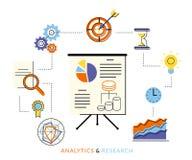 Analytics process Royalty Free Stock Photography
