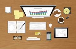 Analytics process Royalty Free Stock Photos