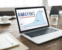 Analytics Report Progress Strategy Concept stock images