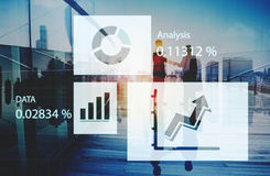 Analytics Report Status Information Analysis Chart Graph Concept Royalty Free Stock Photos