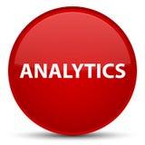 Analytics speciale rode ronde knoop Stock Afbeeldingen