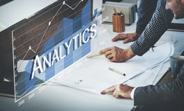 Analytics Statistics Progress SMO Analysis Concept Royalty Free Stock Images
