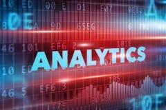 Analyticsbegrepp Royaltyfri Foto