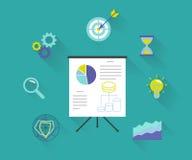 Analyticsprocess royaltyfri illustrationer