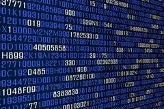 Analytisk olik teknologi för datakod royaltyfri illustrationer