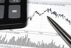 Analyz del mercato Fotografie Stock