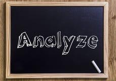 analyze Stockfotos