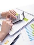 Analyzing Business Data Royalty Free Stock Image