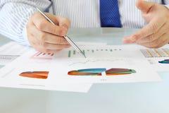 Analyzing Data Royalty Free Stock Images