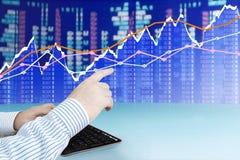 Analyzing Diagram Stock Photo
